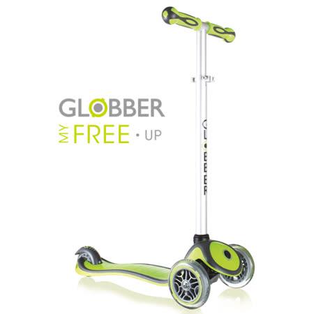 Globber哥輪步兒童2合1三輪滑板車-綠
