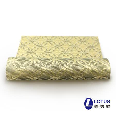 【LOTUS樂德】時尚系列-金色萬花筒餐桌墊(2入)