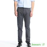 bossini男裝-彈性休閒褲01鐵灰