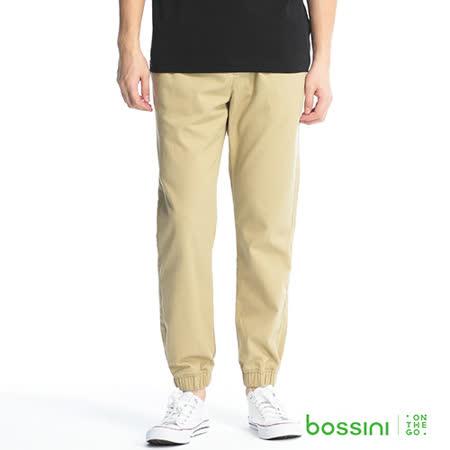 bossini男裝-時尚束口褲03土黃