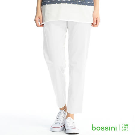 bossini女裝-彈力修身褲03灰白