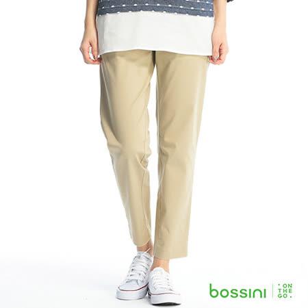 bossini女裝-彈力修身褲03卡其