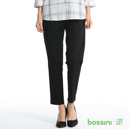 bossini女裝-彈力修身褲03黑