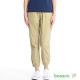 bossini女裝-時尚束口褲05淡卡其