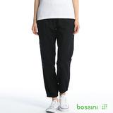 bossini女裝-時尚束口褲05黑