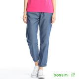 bossini女裝-時尚束口褲06深靛藍