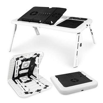 LD09 雙風扇折疊散熱NB電腦桌 (LY-NB24)