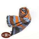 岱妮蠶絲 - 純蠶絲保暖刷毛圍巾(8Q)