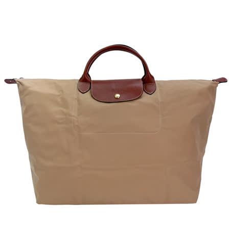LONGCHAMP LE PLIAGE短把手提旅行袋(L/米)