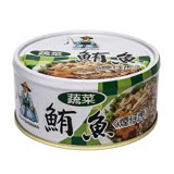 同榮蔬菜鮪魚180g*3/組