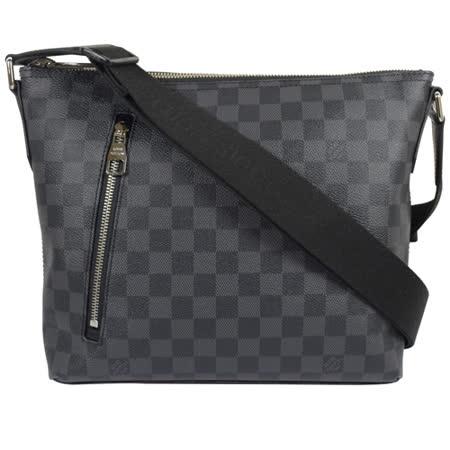 Louis Vuitton LV N41211 MICK PM 黑棋盤格紋斜背包_預購