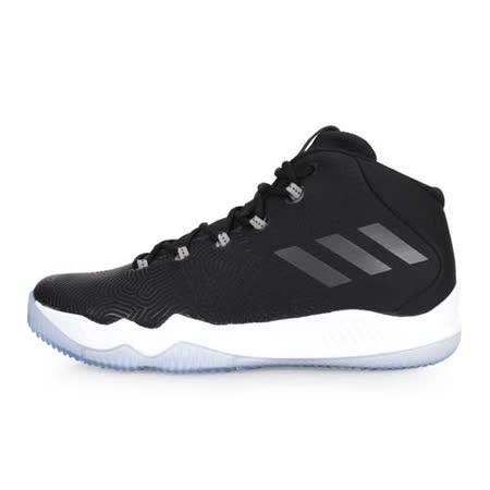 (男) ADIDAS 籃球鞋 黑白