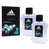 【買一送一】ADIDAS ICE DIVE 品味透涼男性淡香水 100ml