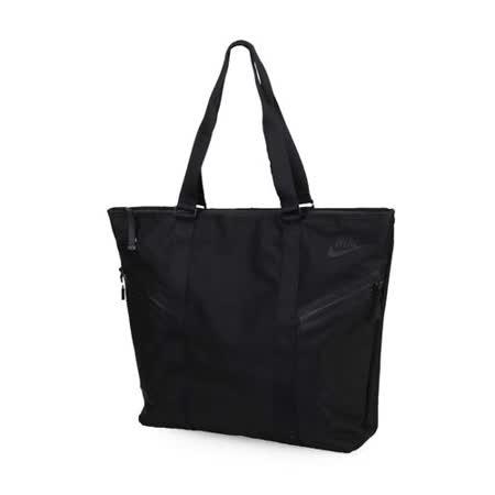 NIKE 托特包-手提包 肩背包 側背包 旅行包 行李包 黑 F