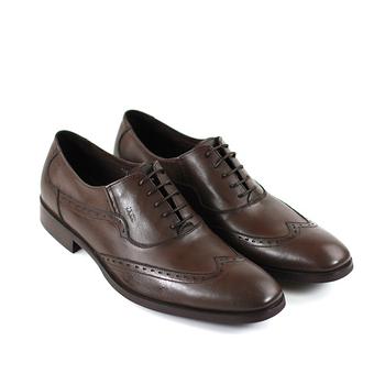 【GREEN PHOENIX】英倫風牛津雕花真皮紳士皮鞋(男款)