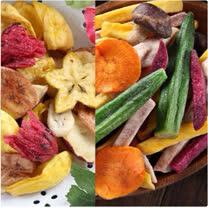 【愛上新鮮】綜合水果脆片、綜合野菜脆片任選12包