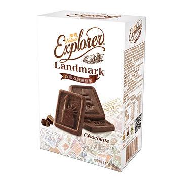 探索巧克力奶油餅乾125g