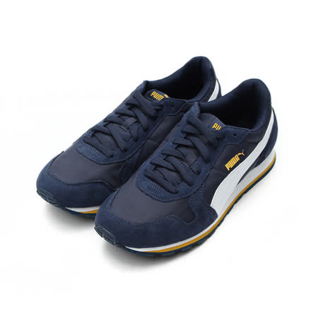 (男) PUMA ST Runner NL 限定版復古慢跑鞋 藍橘 35673831 鞋全家福