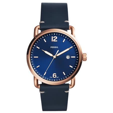 FOSSIL 時間轄區時尚腕錶-FS5274