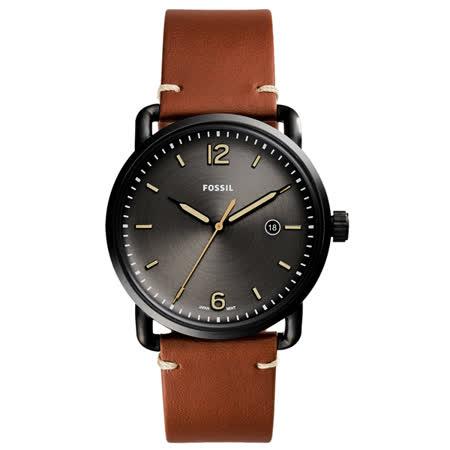 FOSSIL 時間轄區時尚腕錶-FS5276