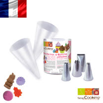 法國【Scrap Cooking】樂桃烘廚 4主題花嘴基本款套組