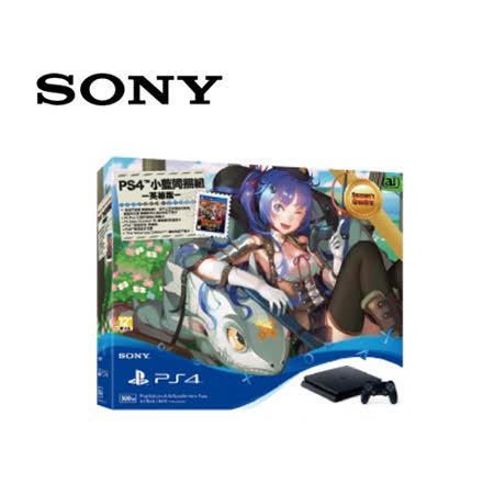 SONY PS4 CUH-2017AB01 500GB主機小藍英雄版同捆組+PS4 原廠無線控制器