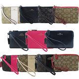 COACH熱賣款手拿包(多款)-送原廠防塵套、原廠提袋