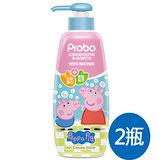 【快潔適】博寶兒護敏洗髮露500ML-佩佩豬*2