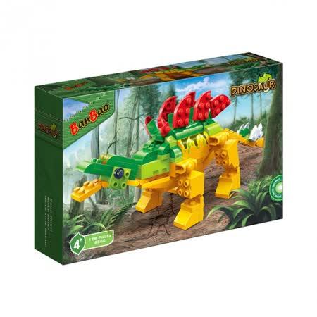 【BanBao 積木】侏羅紀系列-裝甲劍龍 6860