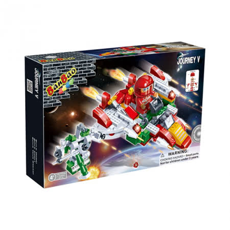 【BanBao 積木】太空系列-敵方戰艦1 6412
