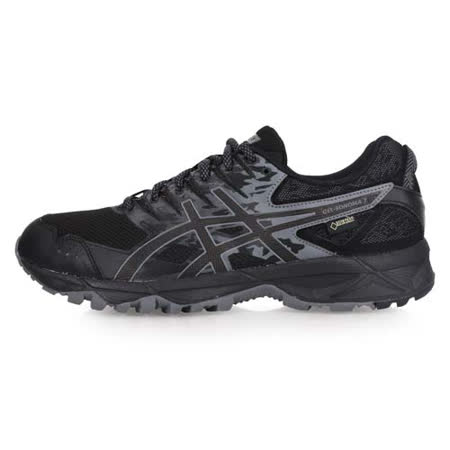 (男) ASICS GEL-SONOMA 3 G-TX越野鞋-GORE-TEX 亞瑟士 黑灰