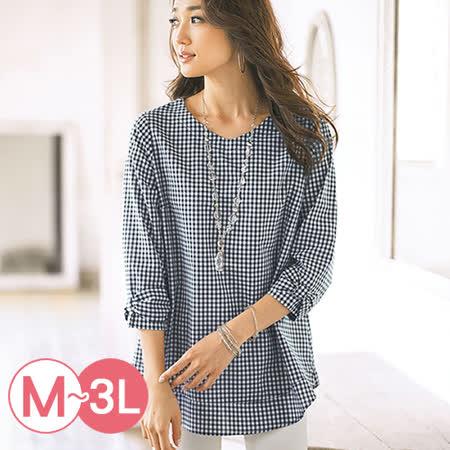 日本Portcros 預購-棉天絲麻蝴蝶結袖口上衣(共三色/M-3L)