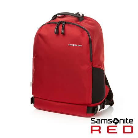 Samsonite RED  CLOVEL  造型潮流中性休閒筆電後背包15.6