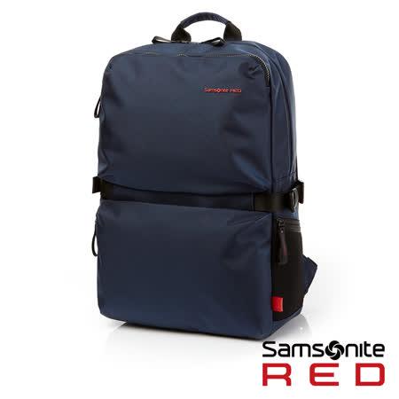 Samsonite RED  CLOVEL  造型潮流中性休閒筆電後背包包L 17