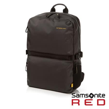 Samsonite RED  CLOVEL  造型潮流中性休閒筆電後背包L 17
