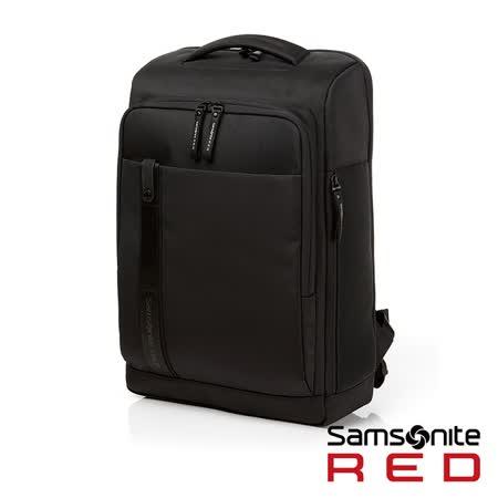 Samsonite RED  ELIUN  簡約休閒中性筆電後背包M 15.6