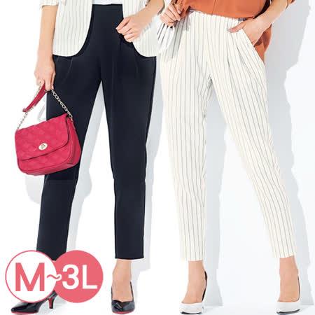 日本Portcros 預購-打褶設計彈性老爺褲(共五色/M-3L)