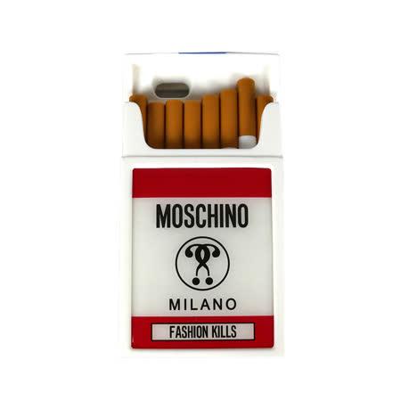 【MOSCHINO】菸盒立體造型橡膠手機殼(IPhone 6/6S)