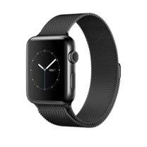 Apple WATCH S2 42mm/S  42公釐 太空黑不鏽鋼錶殼搭配太空黑米蘭式錶環【贈送螢幕保護貼+觸控筆+專用錶套】(MNQ12TA/A)
