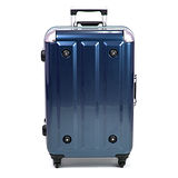 MOM 日本品牌 - 29吋 PC鋁框拉桿行李箱 RU-3008-29-藍