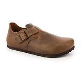 勃肯BIRKENSTOCK 1004129。LONDON倫敦 扣帶休閒鞋(咖啡色)