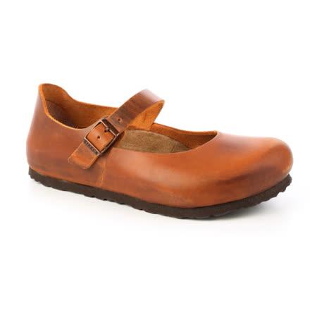 勃肯BIRKENSTOCK 1004283。MANTOVA曼切華 包鞋(棕色)