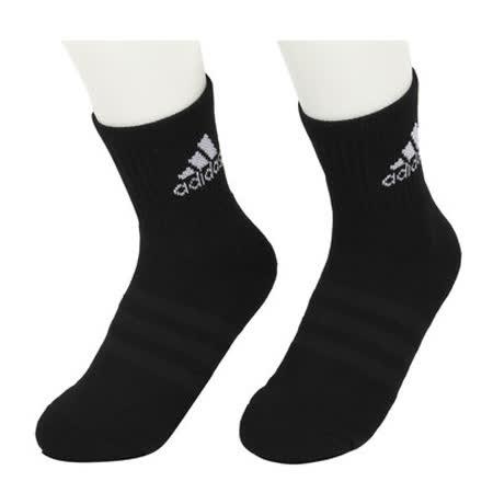 ADIDAS 男女 3S PER CR HC 1P 短襪 黑 AA2301