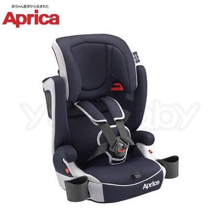 愛普力卡 Aprica AirGroove 成長型輔助汽車安全座椅(可機洗限定版) -藍色颶風