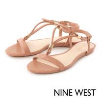 NINE WEST--T字繫帶涼鞋--好感膚
