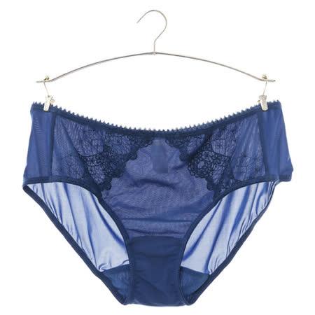 【蕾黛絲】花舞柔情真水平口褲 M-L(深藍)