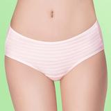 【嬪婷】寶貝棉蘆薈加工棉M-LL中腰生理褲(甜美粉)