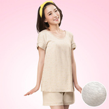 【嬪婷】學生內衣環保有機棉M-L家居服(文雅灰)