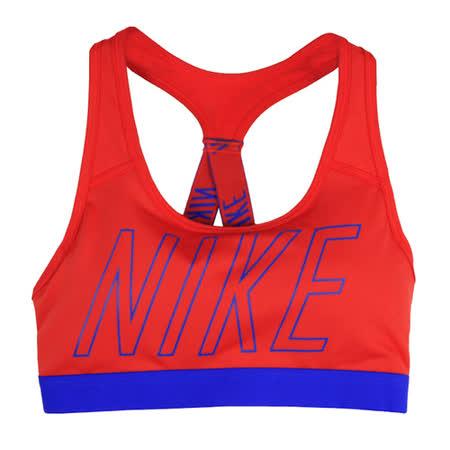 NIKE 女 AS NIKE PRO CLASSIC LOGO READ 運動內衣 紅 847571852