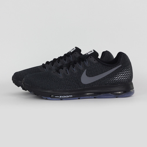 NIKE 男 NIKE ZOOM ALL OUT LOW 慢跑鞋 黑 878670001